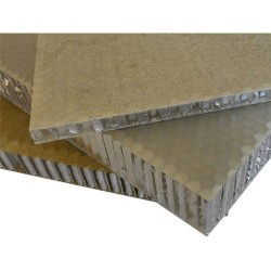 - Aluminyum Honeycomb Balpeteği Panel C:6mm D:56kg/m3 T:15mm 150cm x 300cm (FRP yuzey)