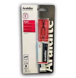 ARALDITE - 5 DAKİKALIK EPOKSI YAPIŞTIRICI ARALDİTE RAPİD -24ml