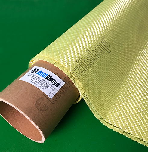 Aramid(Kevlar) Fiber Kumaş 300 gr/m2 twillLS