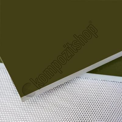 - Cam Fiber Haki Yeşil G10 Pro Plaka T:7mm 40x50cm