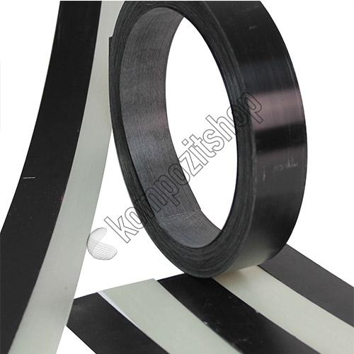 - Cam Fiber Siyah Şerit 1.0mmx45mm Boy:100cm