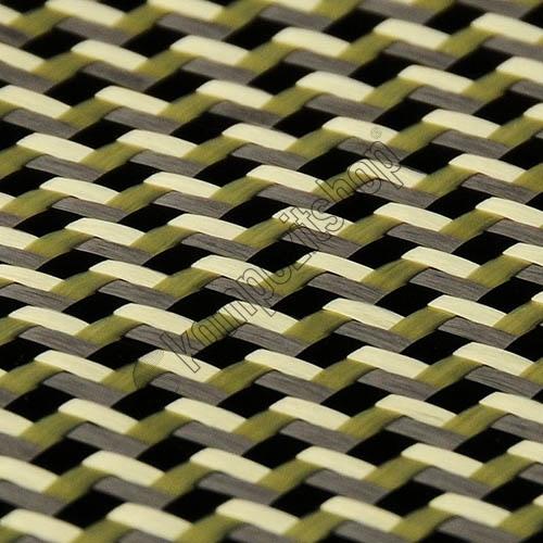 PROFABRIC - Karbon Aramid Kumaş 210 gr/m2 -twill