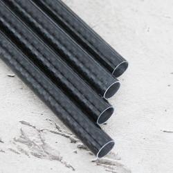 Karbon Fiber Boru 3K Dış/İç Çap:10mm/8mm  - Thumbnail