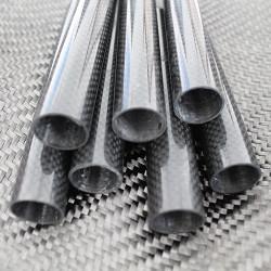 PROTUBE3K - Karbon Fiber Boru 3K Dış/İç Çap:20mm/18mm