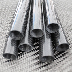 PROTUBE3K - Karbon Fiber Boru 3K Dış/İç Çap:30mm/28mm