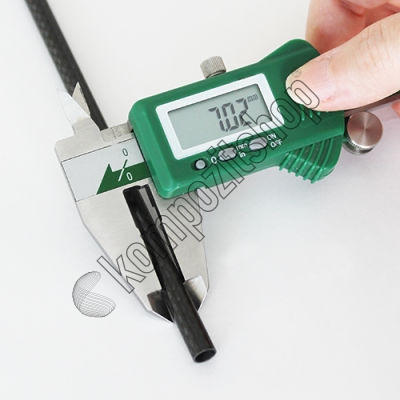 PROTUBE3K - Karbon Fiber Boru 3K Dış/İç Çap:7mm/6mm