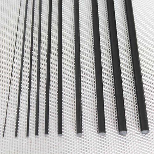 Karbon Fiber Çubuk Çap:9mm