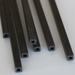 EKOTUBE-CARBON - Karbon Fiber Kare Boru Profil Dış/İç 6mm/4.8mm