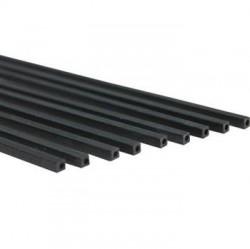 EKOTUBE-CARBON - Karbon Fiber Kare Profil Dış/İç 4mm/2mm