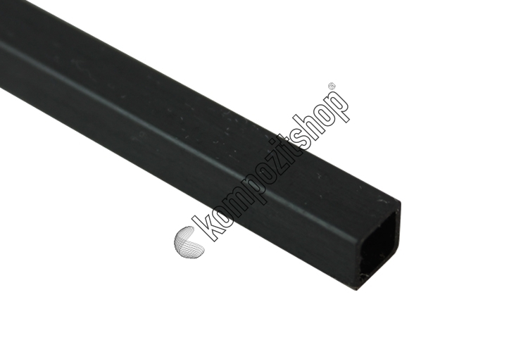 Karbon Fiber Kare Profil Dış/İç 6mm/4,8mm
