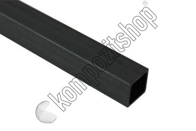 EKOTUBE-CARBON - Karbon Fiber Kare Profil Dış/İç 10mm/8mm