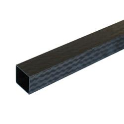 PROTUBE-CARBON - Karbon Fiber Kare Profil Dış/İç 18mm/16mm PRO