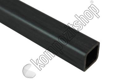 EKOTUBE-CARBON - Karbon Fiber Kare Profil Dış/İç 13mm/10mm