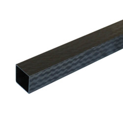 PROTUBE-CARBON - Karbon Fiber Kare Profil Dış/İç 20mm/17mm PRO