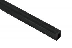 EKOTUBE-CARBON - Karbon Fiber Kare Profil Dış/İç 3mm/2mm