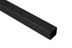 EKOTUBE-CARBON - Karbon Fiber Kare Profil Dış/İç 10mm/9mm