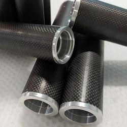 - Karbon Fiber Merdane Dıs/Ic Cap:20mm/18mm