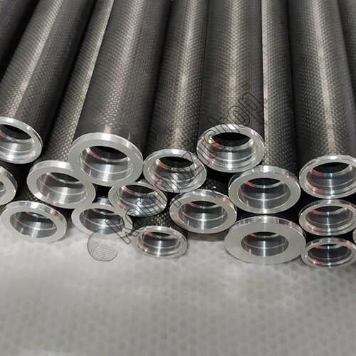 Karbon Fiber Merdane Dıs/Ic Cap:34mm/28mm
