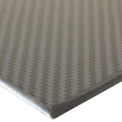 PROPLATE-CARBON - Karbon Fiber Plaka Pro T:2,5mm 50cmX50cm