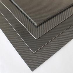 EKOPLATE-CARBON - Karbon Fiber Plaka T:1mm 48cmX48cm