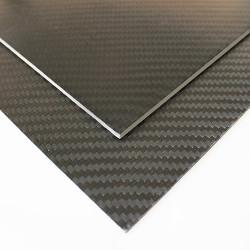 EKOPLATE-CARBON - Karbon Fiber Plaka T:2mm 48cmX48cm