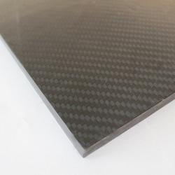 EKOPLATE-CARBON - Karbon Fiber Plaka T:3mm 48cmX48cm