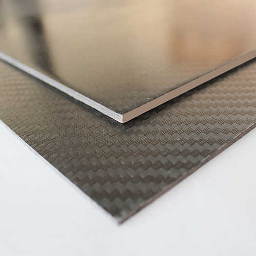 Karbon Fiber Plaka T:3mm 48cmX48cm