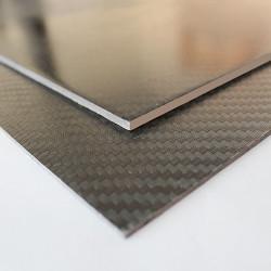 Karbon Fiber Plaka T:3mm 48cmX48cm - Thumbnail