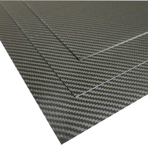 Karbon Fiber Plaka T:3mm CNC Kesimli